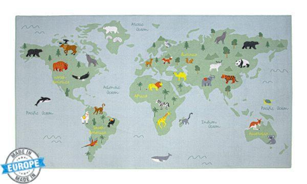 Mapa Mundo 01